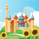 Summer Castle Background - GraphicRiver Item for Sale