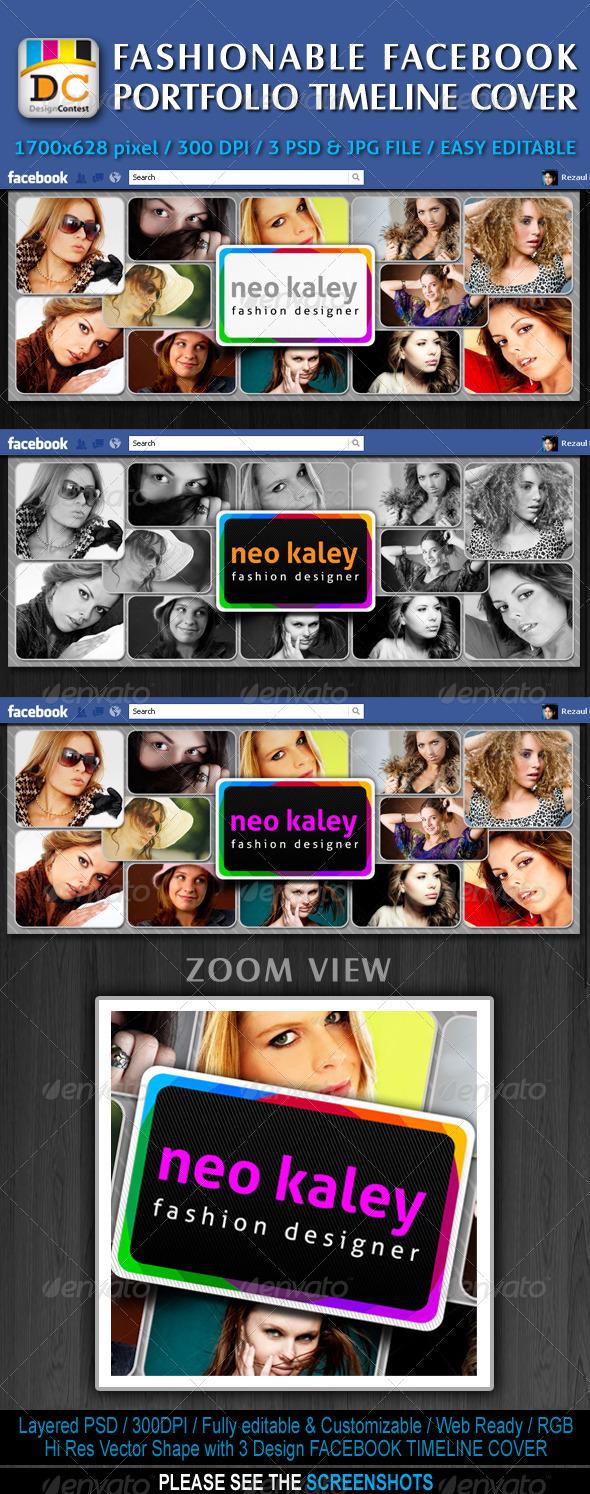 Fashionable Facebook Timeline Cover - Facebook Timeline Covers Social Media