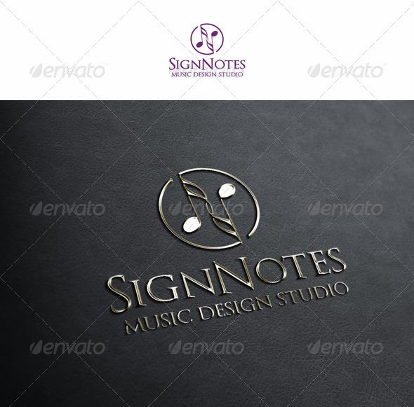 Sign Notes - Symbols Logo Templates