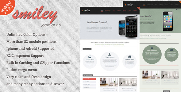 Smiley Premium - Joomla Template