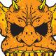 Orange Monster - GraphicRiver Item for Sale