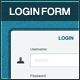 Classy Login Form - GraphicRiver Item for Sale