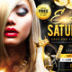 Exclusive Saturdays Flyer - GraphicRiver Item for Sale