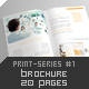 Brochure 20 Pages Print-Series #1 - GraphicRiver Item for Sale