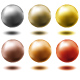set of metal balls,... - GraphicRiver Item for Sale