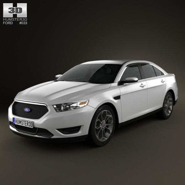 3DOcean Ford Taurus SHO 2013 2521178