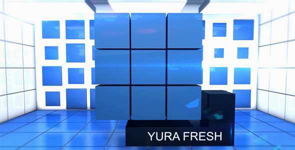 After Effects Project - VideoHive Business Cubes 2521937