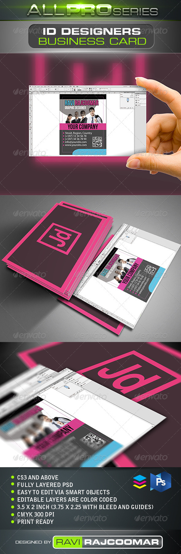 ID Designers Business Card - Creative Business Cards