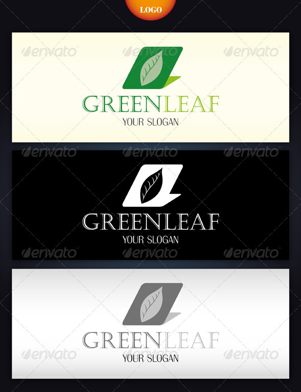 Greenleaf Logo - Nature Logo Templates
