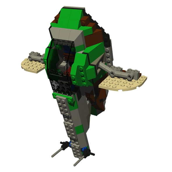 LEGO Slave 1 - 3DOcean Item for Sale
