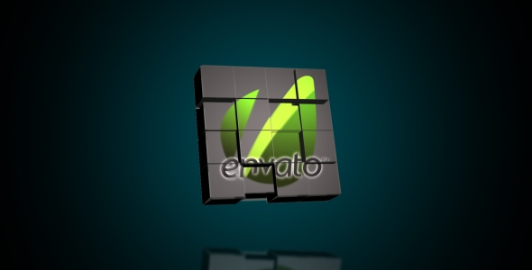 After Effects Project - VideoHive Logo Cubes Transformation 92223