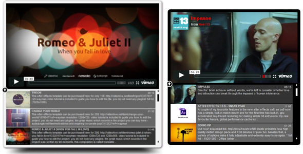 CodeCanyon - Vimeo SEO Video Playlist jQuery RIP