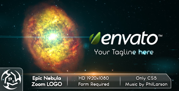 After Effects Project - VideoHive Epic Nebula Zoom Logo 2527156