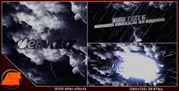 After Effects Project - VideoHive Rain 2527333
