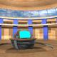 3D-TV_Studio_F_01 - GraphicRiver Item for Sale