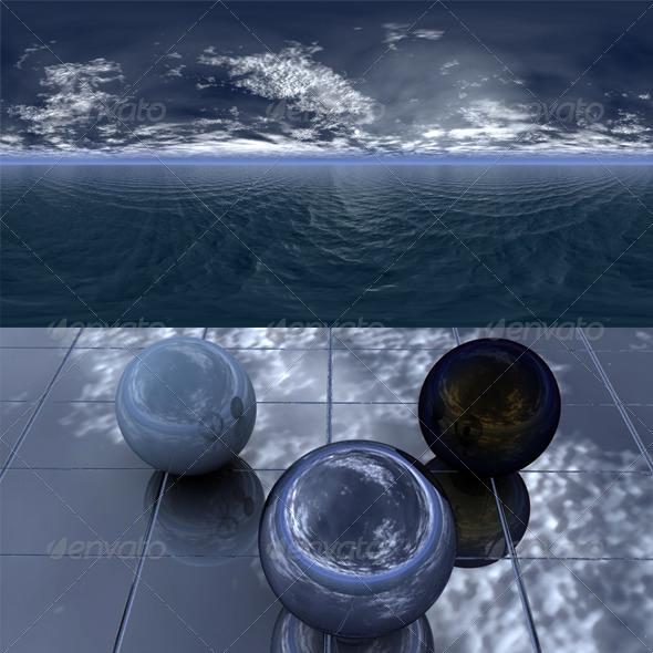 Night sea 5 - 3DOcean Item for Sale