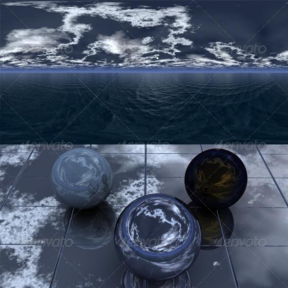 3DOcean Night sea 6 2528028