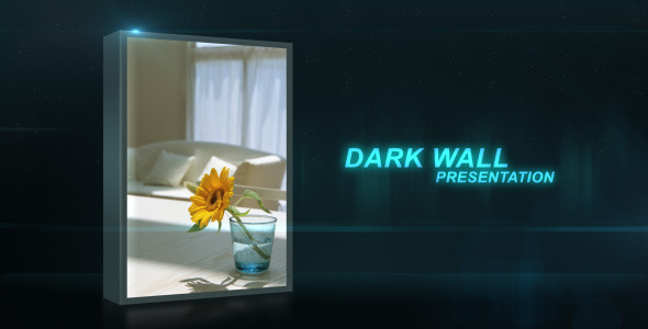 VideoHive Dark Wall Corporate Presentation 2528189