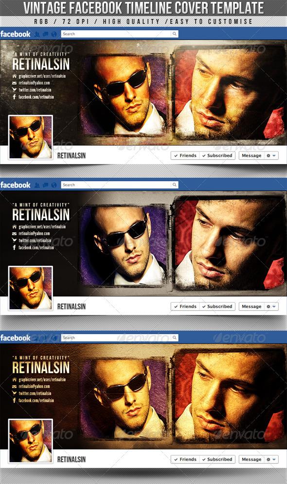 Vintage Facebook Timeline Cover - Facebook Timeline Covers Social Media
