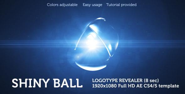 VideoHive Shiny Ball Logo Revealer 2529679