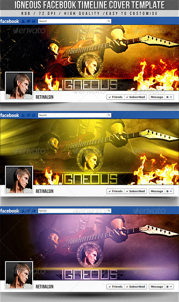 Igneous Facebook Timeline Cover - Facebook Timeline Covers Social Media