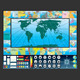 Infographic World Map Kit - GraphicRiver Item for Sale
