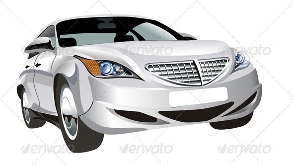 Vector Abstract Modern Car