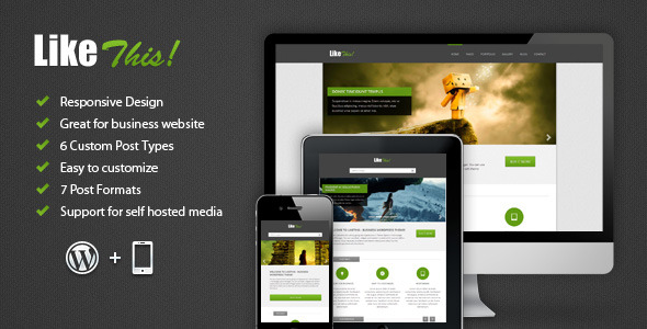 LikeThis Wordpress Theme