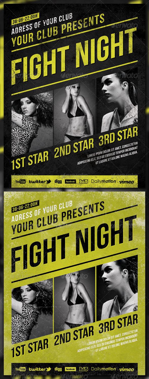 GraphicRiver Fight Night 2530776