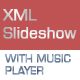 XML Fullscreen Slideshow with Music Player - ActiveDen Item for Sale