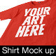 Unisex Shirt Mockup  - GraphicRiver Item for Sale