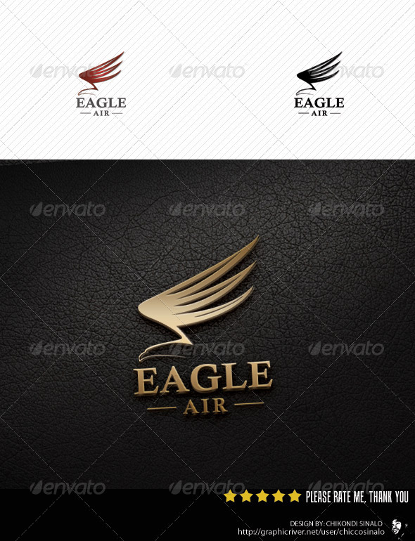 Eagle Air Logo Template  - Abstract Logo Templates