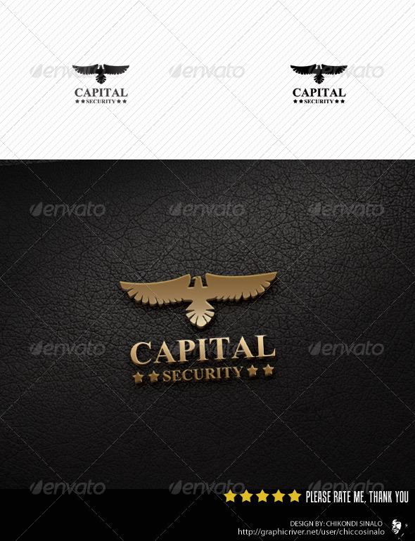 Capital Security Logo Template  - Abstract Logo Templates