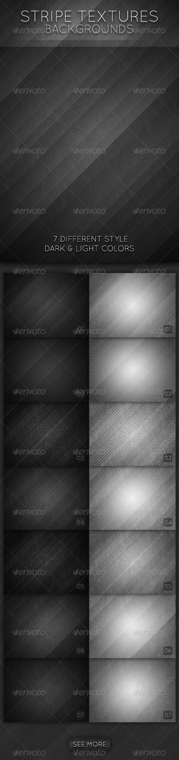 GraphicRiver Stripe Textures Backgrounds 2532656