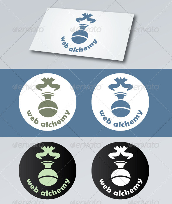 Web Alchemy Logo - Objects Logo Templates