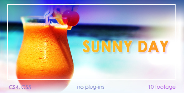 After Effects Project - VideoHive Sunny day 2478213