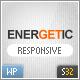 Energetic - Responsive Wordpress Theme