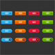 Go buttons - GraphicRiver Item for Sale