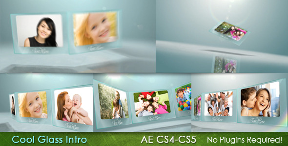 After Effects Project - VideoHive Cool Glass Intro 2533176