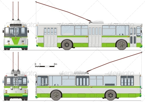 Vector Trolleybus