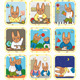 Hare Schedule Day Set - GraphicRiver Item for Sale