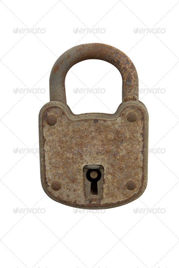 The old lock - Stock Photo - Images