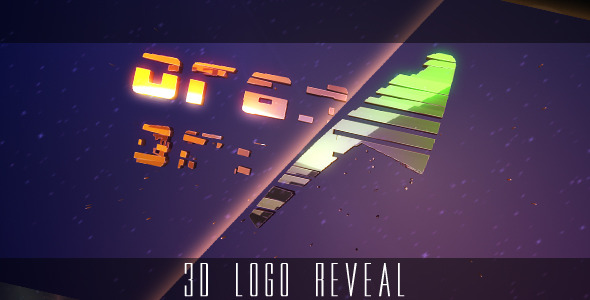 VideoHive 3D Logo Reveal Intro With Glow & Flare 2534145