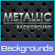 Metallic Backgrounds - GraphicRiver Item for Sale