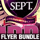 Purple Flyer Bundle - GraphicRiver Item for Sale