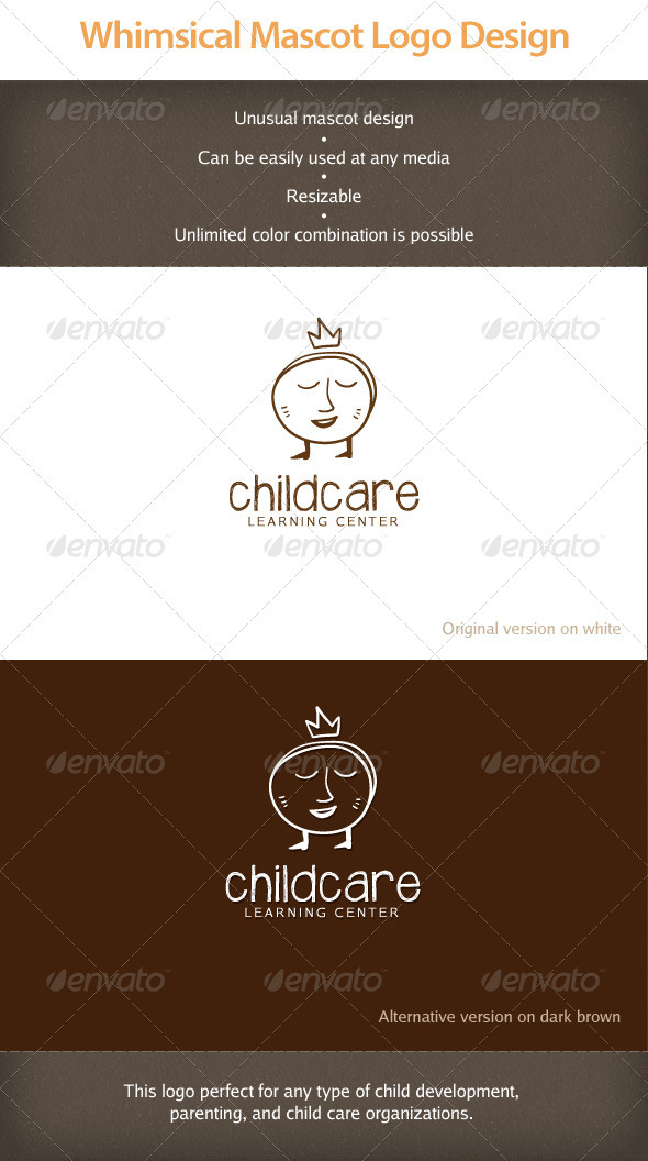Whimsical Mascot Logotype - Objects Logo Templates