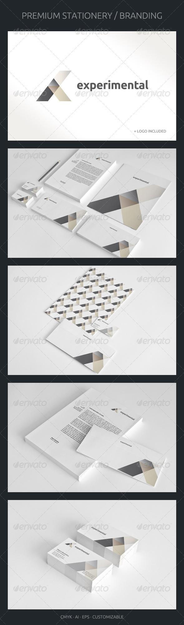 GraphicRiver Experimental Corporate Identity 2517773