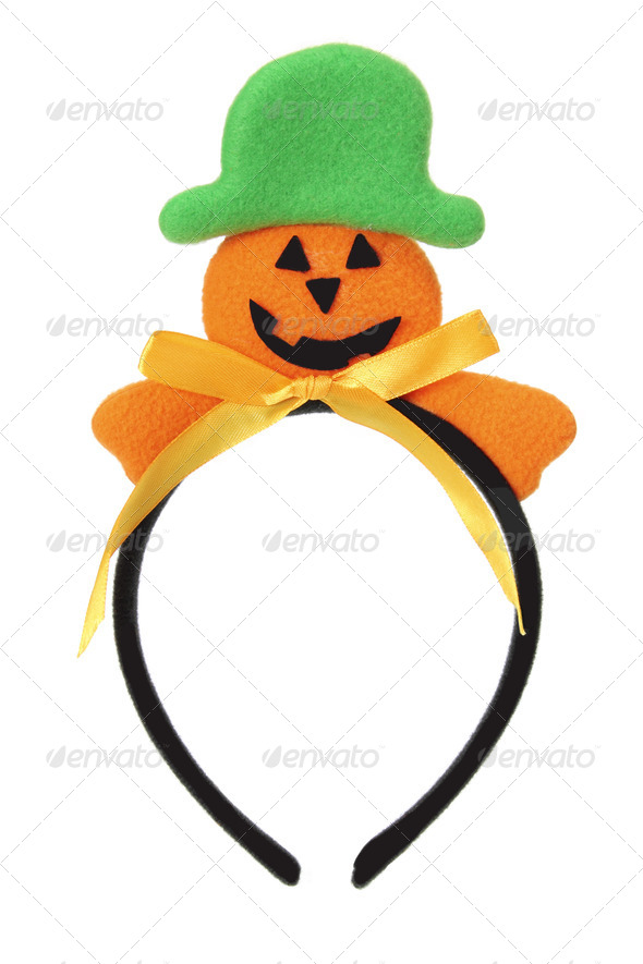 Halloween Head Band - Stock Photo - Images