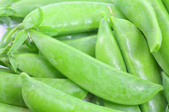 Garden Peas - Stock Photo - Images