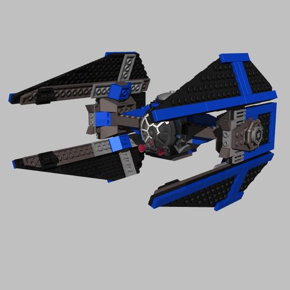 3DOcean LEGO Tie Interceptor 92524
